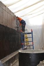 Битумными мастиками строительные материалы наливные полы